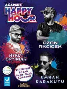 Ağapark'ta 'Happy Hour' Partisine Davetlisiniz